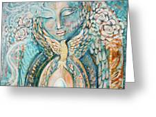 Shelter Of The Sacred Greeting Card