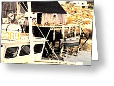 Sheltered Port Greeting Card