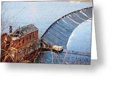 Shelton Hydro-electric Power House Greeting Card