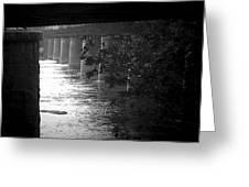 Shenandoah Train Bridge Greeting Card