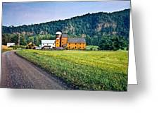 Shenandoah Valley Farm Greeting Card