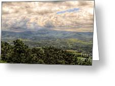 Shenandoah Valley - Storm Rolling In Greeting Card