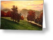 Shenandoah Valley Sunrise Greeting Card