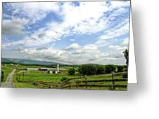 Shenandoah Valley West Virginia Scenic Series Greeting Card