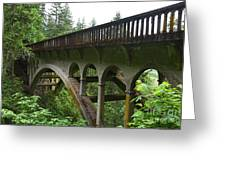 Shepperds Dell Bridge Greeting Card