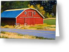 Sherman Barn Greeting Card