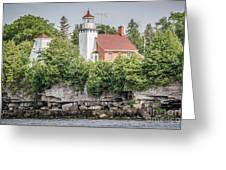 Sherwood Point Lighthouse Greeting Card