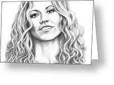 Sheryl Crow Greeting Card