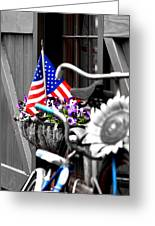 She's A Grand Old Flag Greeting Card