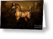Shikoba Choctaw Horse Greeting Card