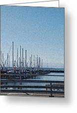 Shilshole Bay Marina 2010 Greeting Card