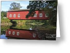 Shimanek Bridge Greeting Card