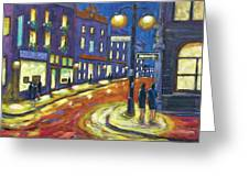 Shimmering Night Greeting Card