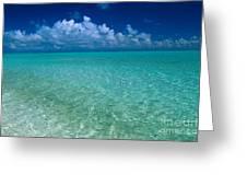 Shimmering Ocean Greeting Card