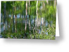Shimmering Reflection Greeting Card