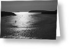 Shimmering Sea. Greeting Card