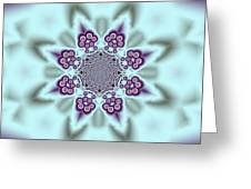 Shimmering Snowflake Greeting Card