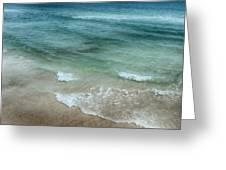 Shimmering Tide Greeting Card