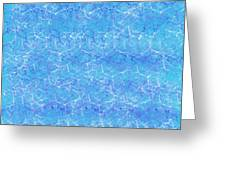 Shimmering Water Greeting Card