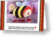 Shine Your Heart Bright  Greeting Card