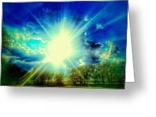 Shining Bright Greeting Card