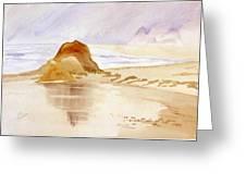 Shining Sands Greeting Card