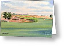 Shinnecock Hills Golf Course Greeting Card by Bill Holkham