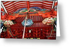Shinto Shrine Greeting Card