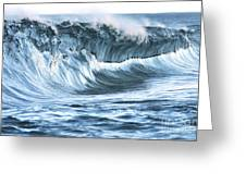 Shiny Wave Greeting Card