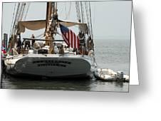 Ship 19 Greeting Card