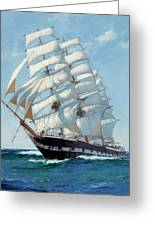 Ship Waimate - Detail Greeting Card