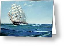 Ship Waimate Greeting Card