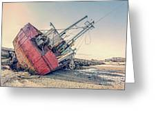 Shipwreck Provincetown Breakwater Greeting Card
