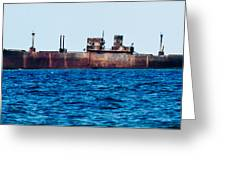 Ship Wreck  Greeting Card
