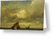 Shipping In A Breeze Greeting Card