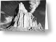 Shiprock New Mexico Greeting Card
