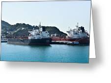 Ships Greeting Card
