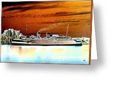 Shipshape 2 Greeting Card