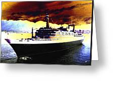 Shipshape 3 Greeting Card