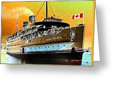 Shipshape 6 Greeting Card