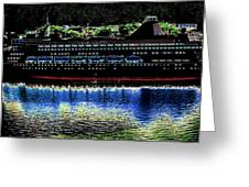 Shipshape 8 Greeting Card by Will Borden