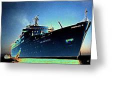 Shipshape 9 Greeting Card