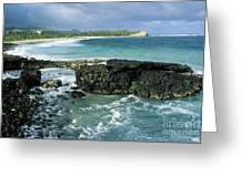 Shipwreck Beach Greeting Card