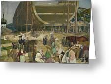 Shipyard Society Greeting Card