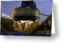 Shipyard Work Greeting Card