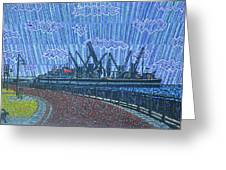 Shipyards A Newport News Greeting Card