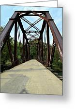 Shirley Railroad Bridge 1 Greeting Card
