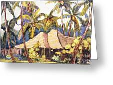 Shirley Russell Art Greeting Card
