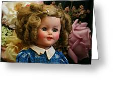 Shirley Temple Doll Greeting Card