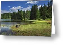 Shiroka Polyana Dam Greeting Card